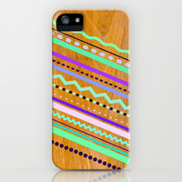 Wooden Axis Purple iPhone & iPod Case by House of Jennifer