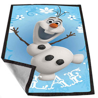 Olaf-Frozen Disney Movie for Kids Blanket, Fleece Blanket Cute and Awesome Blanket for your bedding, Blanket fleece *02*