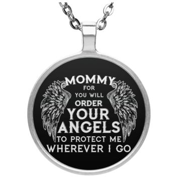Mommy For You Will Order Your Angels Necklaces