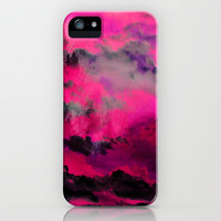 Raspberry Storm Clouds iPhone & iPod Case by Caleb Troy