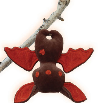 Halloween Bat Sewing Pattern and Tutorial style Instructions Stuffed Animal PDF pattern