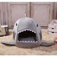Shark Bed, with Removable Pillow