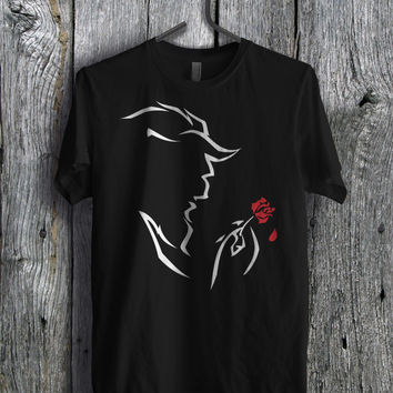 Beast from Beauty and The Beast Disney - llzz Unisex T- Shirt For Man And Woman / T-Shirt / Custom T-Shirt