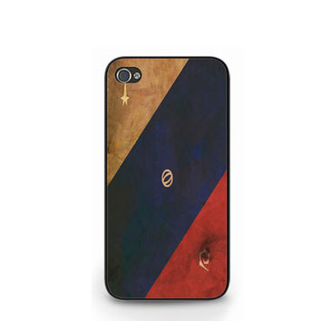 Rusty Old Vintage Star Trek Insignia iPhone 4 4S / iPhone 5 Case Cover