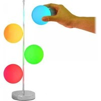 Magnetic 4-Ball Color Changing Lamp | Craziest Gadgets