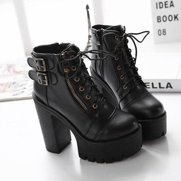 ca DCCKTM4 Hot Deal On Sale Club Shoes Winter Stylish Sexy High Heel Waterproof Boots [11144747271]