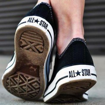 LMFUG7 Women With Men 'Converse' Fashion Canvas Flats Sneakers Sport Shoes
