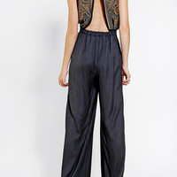 Ecote Val Embellished Jumpsuit - Urban Outfitters