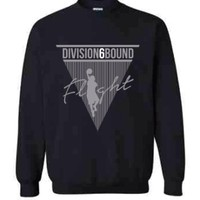Flight Crew Neck Sweat Shirt- Special Edition Black