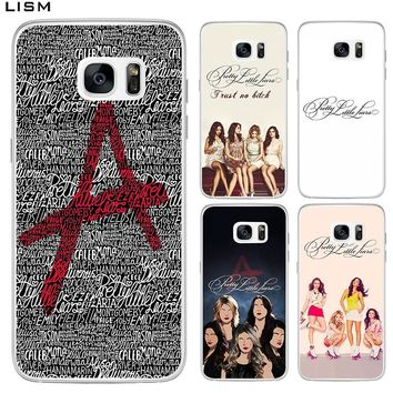 LISM Pretty Little Liars tv Hard Case For Samsung Galaxy A5 A3 2015 2016 2017 A8 2018 Note 9 8 Phone Cover