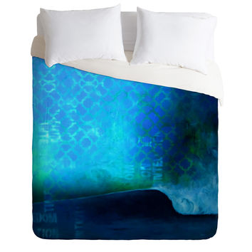 Sophia Buddenhagen No Destination Duvet Cover