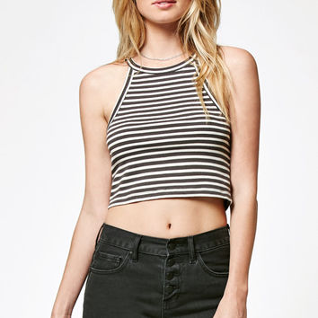 Billabong For Real Stripe Cropped Tank Top at PacSun.com