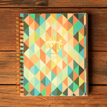 2016 One Canoe Two Planner - Geometric