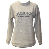 AU Bookstore - SS WOOLLY AUBURN UNIVERSITY BAR NAVY INK WOOLLY THREADS