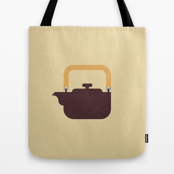 Japan Teapot Tote Bag by Christopher Dina