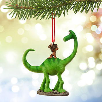 Arlo and Spot Sketchbook Ornament - The Good Dinosaur