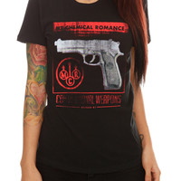 My Chemical Romance Conventional Weapons Girls T-Shirt | Hot Topic