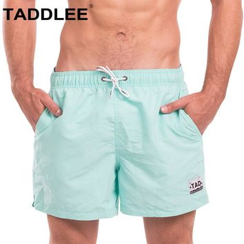 Taddlee Brand Mens Swimwear Swimsuits Boardshorts Swim Beach Boxer Trunks Bathing Suits Active Sweatpants Quick Drying Bottoms