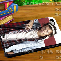 Harry Styles Bandana One Direction 1D - For iphone 4 iphone 5 samsung galaxy s4 / s3 / s2 Case Or Cover Phone.