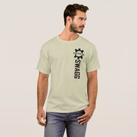 Tactical Swagg AR15 Vertical Black Trademark Logo T-Shirt