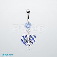Sailor Love Belly Ring