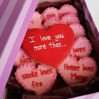 Yum / Valentine (or birthday!) cookies! YUM! (link just to picture)