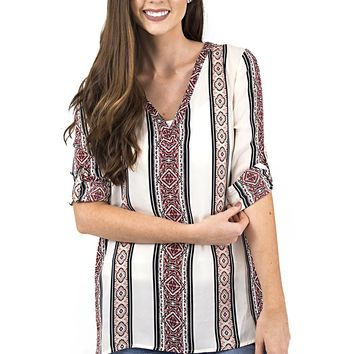 Women's cupcakes and cashmere Labelle Top