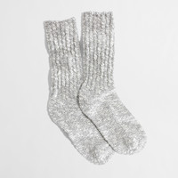 Factory marled camp socks : Socks & Tights | J.Crew Factory