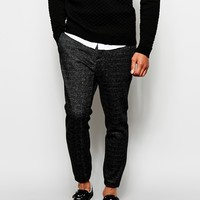 ASOS Slim Fit Smart Jogger In Premium Jersey at asos.com