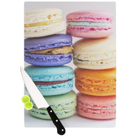 "Libertad Leal ""I Want Macaroons"" Cutting Board"