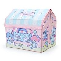 Little Twin Stars Storage Box House Shape Sanrio Japan Kiki Lala - VeryGoods.JP