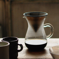 KINTO Slow Coffee Style Carafe Set 600mL