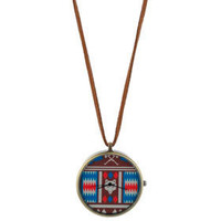 Aztec Clock - Necklaces - Jewelry - Accessories - Topshop USA