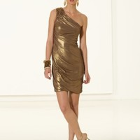 Liquid Jersey One Shoulder Dress