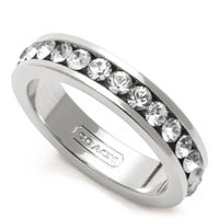 Coach :: Pave Band Ring