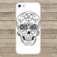 Candy Sugar Skull Hard Phone Case iPhone 3 3GS 4 4S 5 5S 5C Samsung Galaxy S2 S3 S4 Mini S5 Sony Xperia Z Blackberry Z10 Curve Bold HTC One