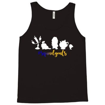 Beauty and The Beast Squadgoals Tank Top