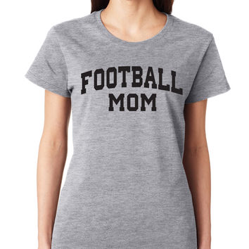 Football Mom Crewneck Tee