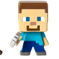 Minecraft Collectible Figures Spider, Steve & Cow 3-Pack, Series 1