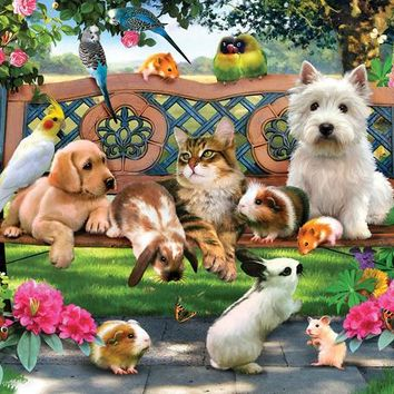 Pets in the Park 500pc Jigsaw Puzzle