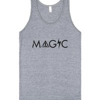 Magic (Tank)-Unisex Athletic Grey Tank