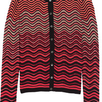M Missoni - Metallic crochet-knit cardigan