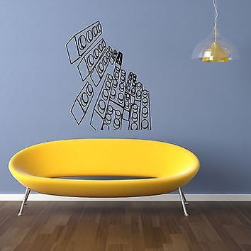 Lego Sticker Wall Vinyl Decal Kids Room Décor Nursery Décor Lego Wall Art 3788