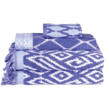 Kalasin Towel Collection in Periwinkle by John Robshaw