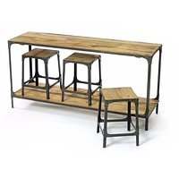 Industrial Console Table by Go Home Ltd. 13000