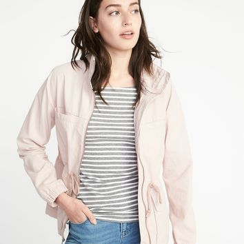 Twill Field Jacket for Women |old-navy