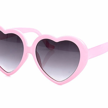 Pastel Heart Eyes Sunglasses