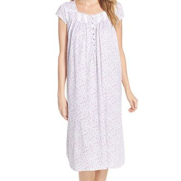 Women's Eileen West 'Meadow' Cotton Ballet Nightgown,