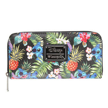 Loungefly Disney Lilo & Stitch Pineapple Zip Wallet