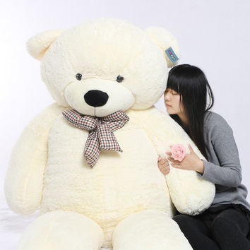 "91"" 230cm  Giant Teddy Bear 2.3m Huge Stuffed Bear"